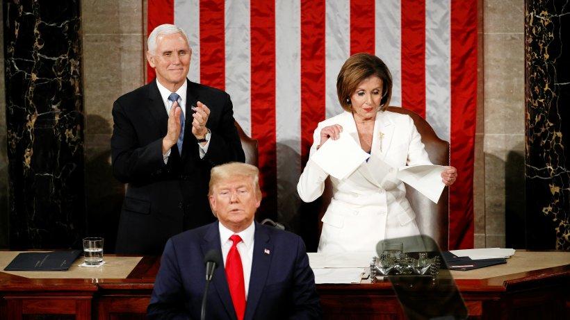 U.S. President D. Trump- State if the Union Address 2020